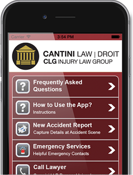 Cantini mobile app
