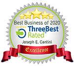 Best Business of 2020 ThreeBest Rated Joseph E Cantini