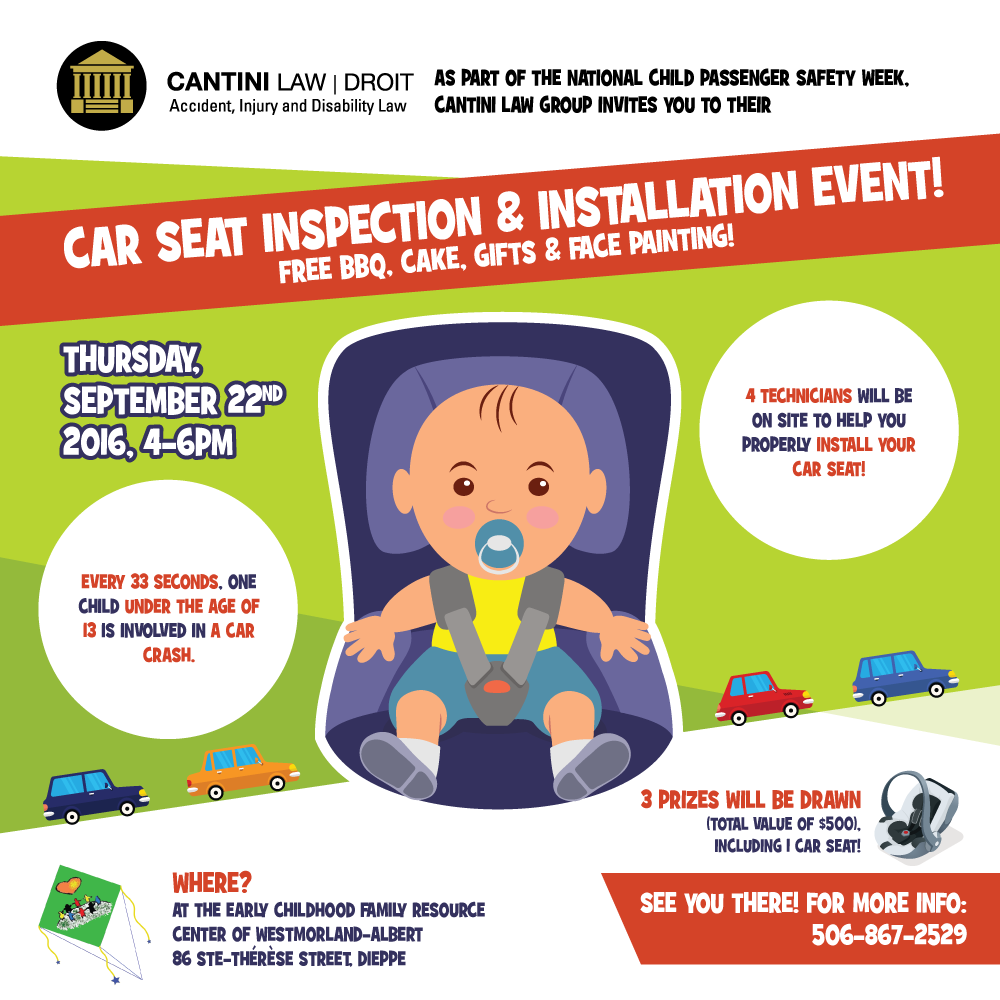 Car Sear Inspection & Installation Event