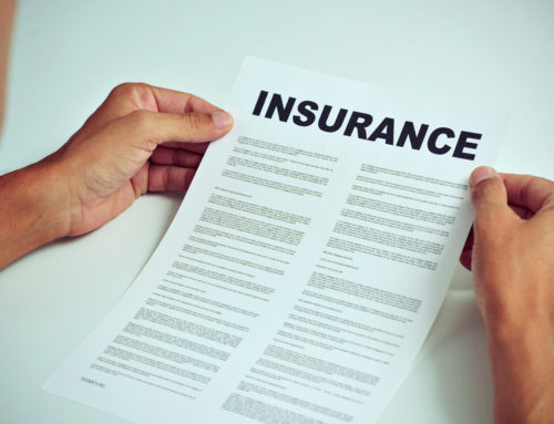 Receiving income after an insurance claim