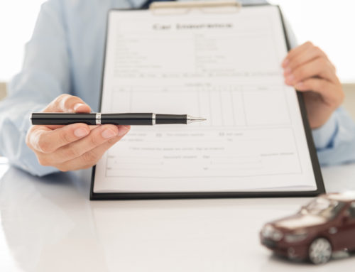 Major sections in the Standard Automobile Insurance Policy